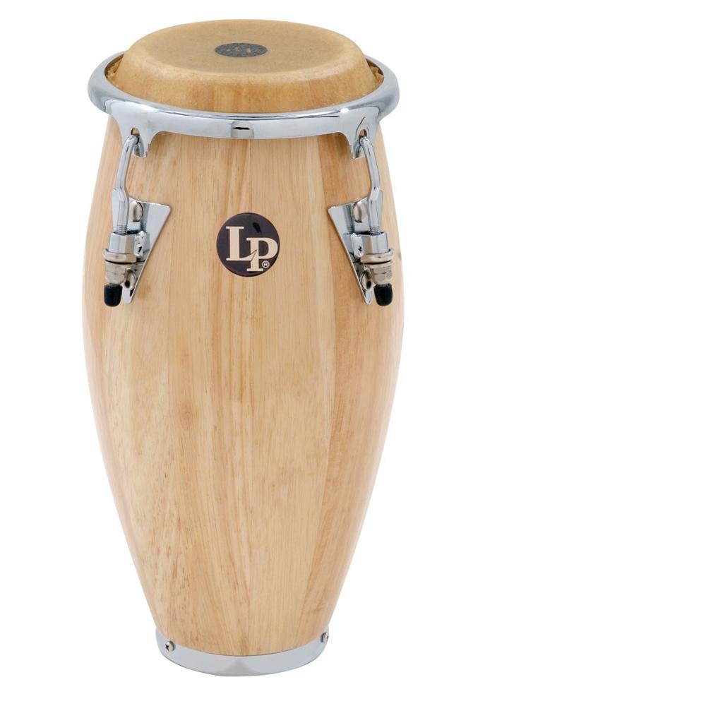 latin percussion mini conga natural wood finish. Black Bedroom Furniture Sets. Home Design Ideas