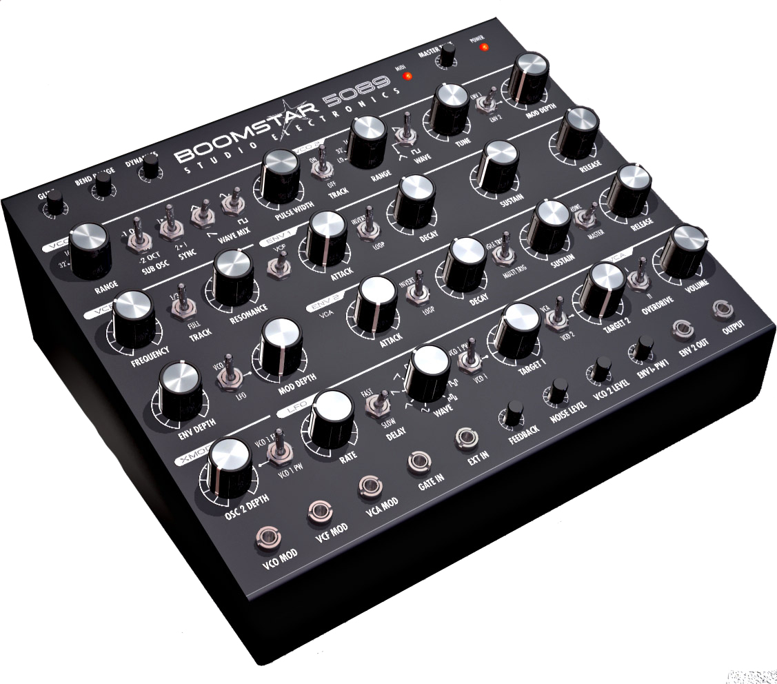 studio electronics boomstar 5089 classic analog moog db24