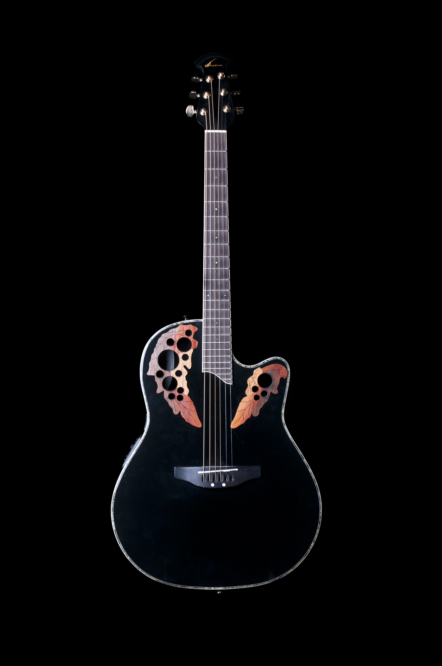 Ovation Celebrity Elite Acoustic-Electric Guitar ...