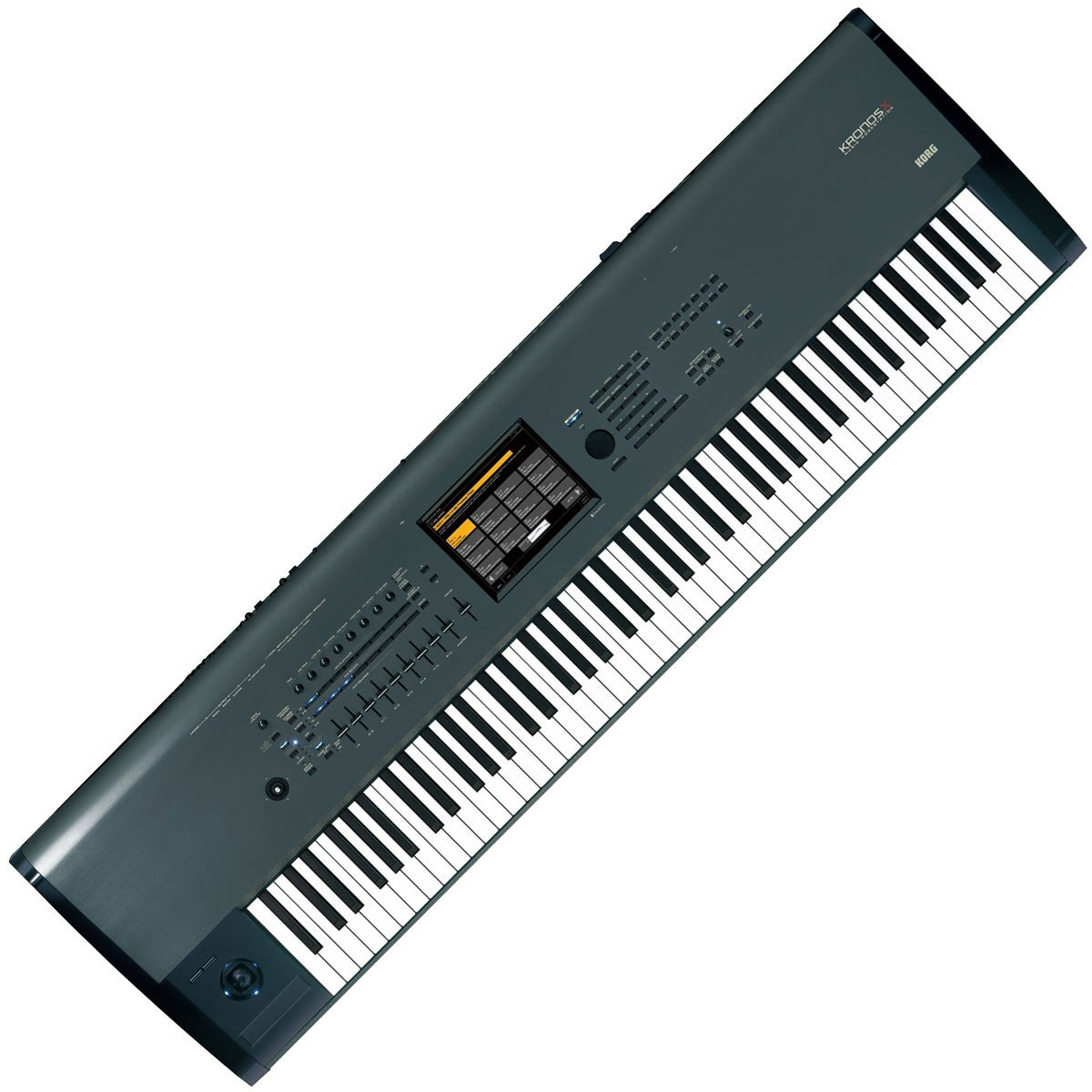 korg kronos x88 x 88 weighted key synthesizer workstation keyboard ebay. Black Bedroom Furniture Sets. Home Design Ideas