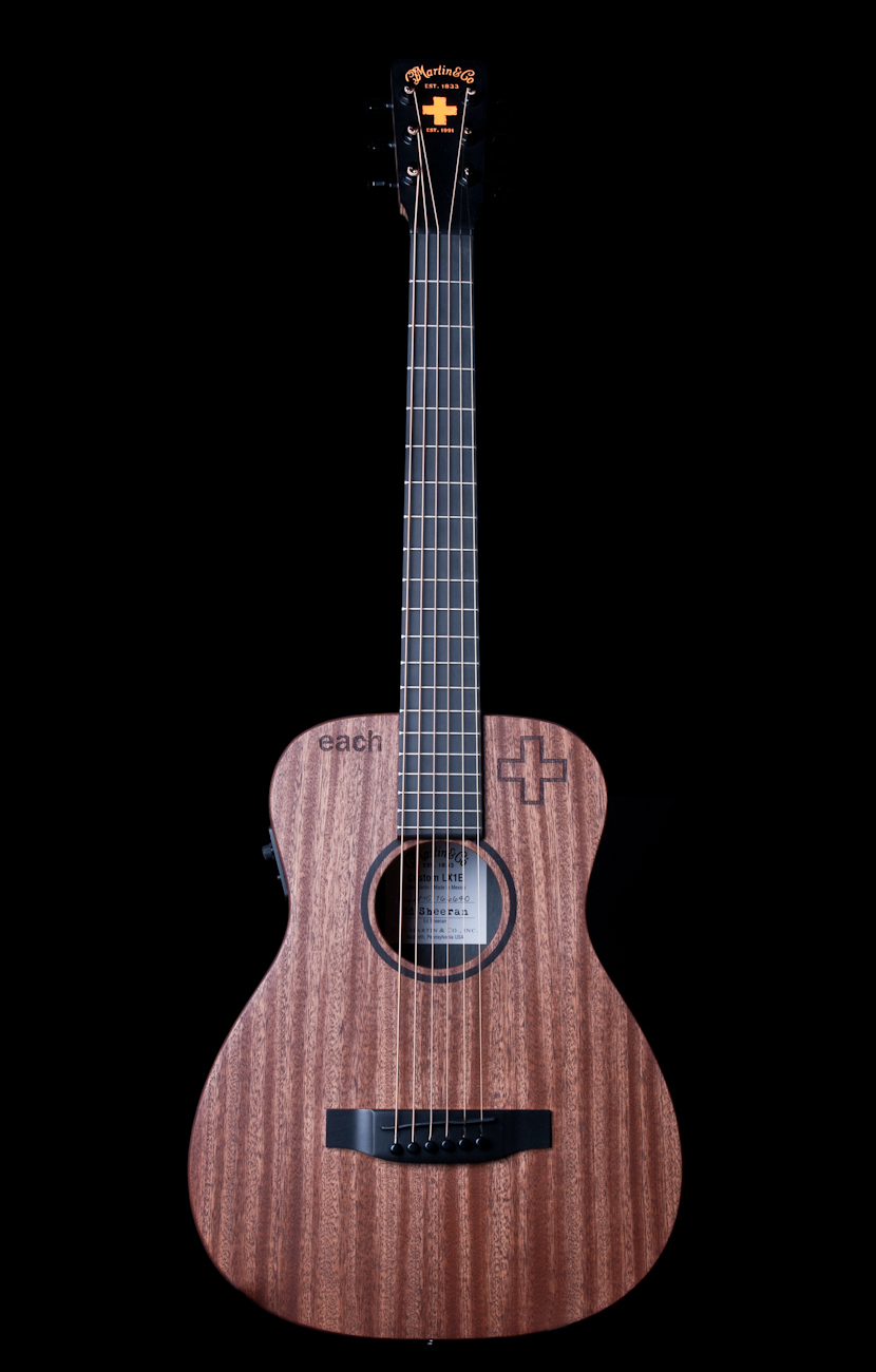 martin lx1e ed sheeran little martin acoustic electric guitar ebay. Black Bedroom Furniture Sets. Home Design Ideas