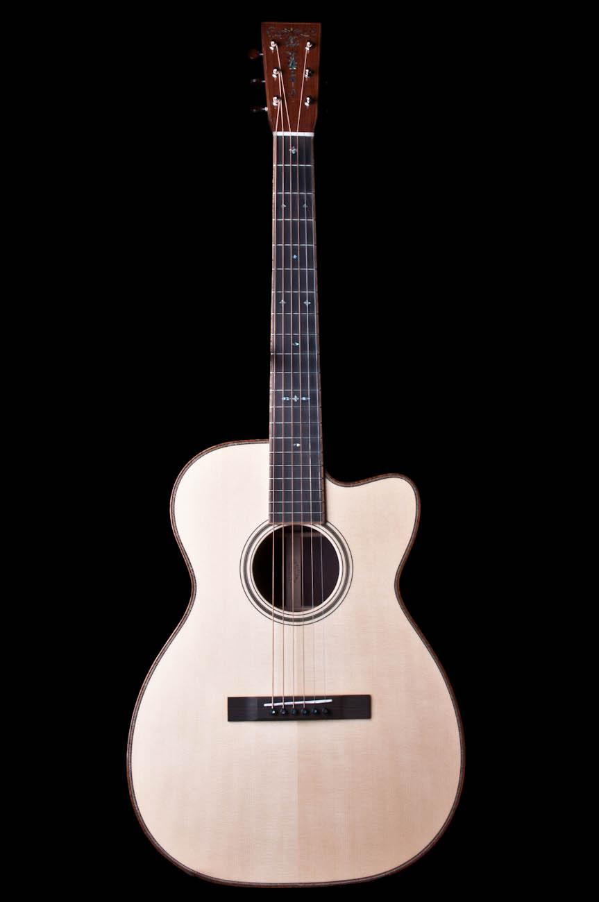 martin custom shop 00 body acoustic guitar 14 fret model ebay. Black Bedroom Furniture Sets. Home Design Ideas